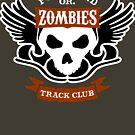 Portland Zombies Track Club Crest (dark) by Rob DeBorde