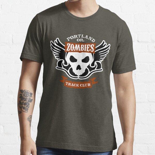 Portland Zombies Track Club Crest (dark) Essential T-Shirt