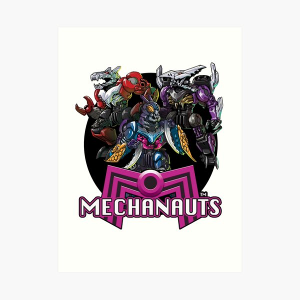 Mechanauts Villains Art Print