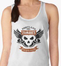 Portland Zombies Track Club Crest (light) Women's Tank Top