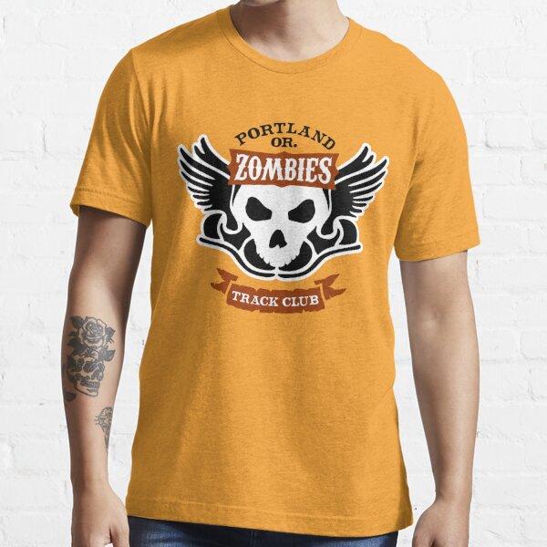 Portland Zombies Track Club Crest (light) Essential T-Shirt