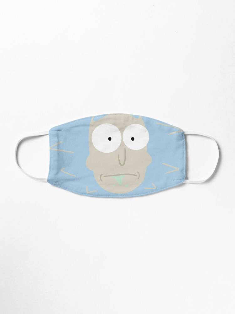 Alternate view of Rick - Rick and morty Mask