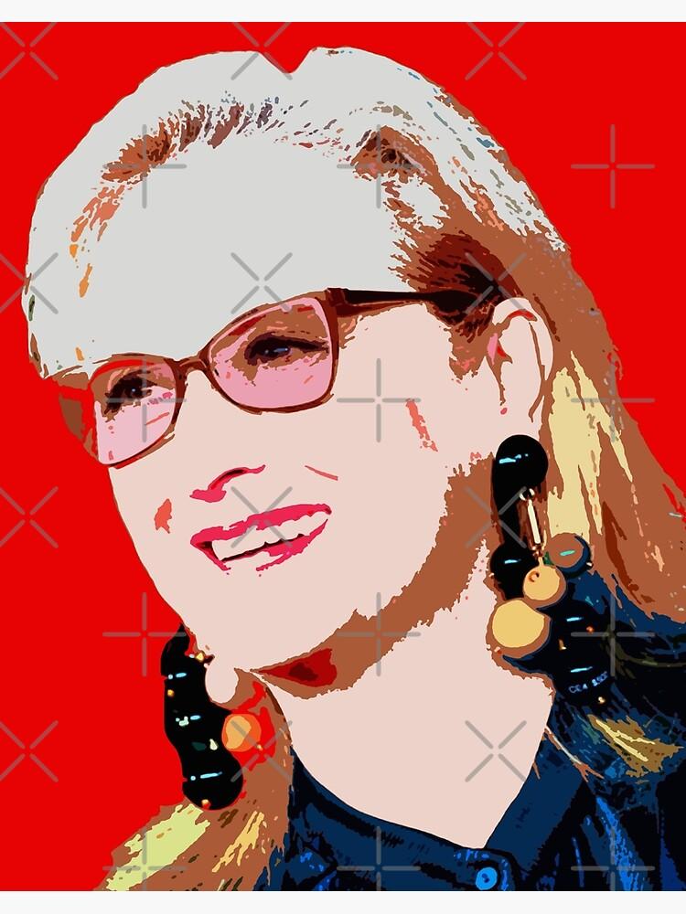 Meryl Streep Art Board Print By Oryan80 Redbubble