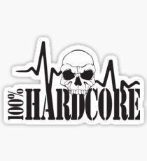 100% Hardcore Sticker