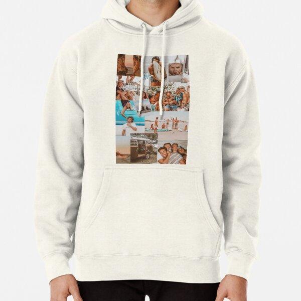 Collage estético de Summer Outer Banks Sudadera con capucha