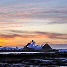 Sunset at Sunset Bay by Bryan D. Spellman