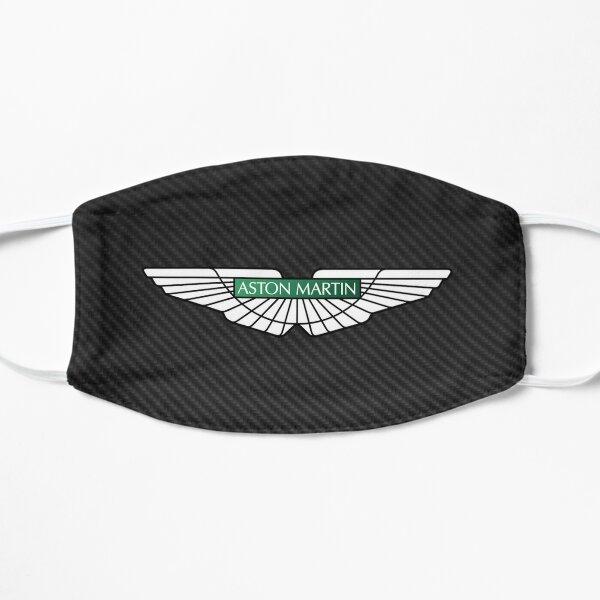 Aston Martin logo on carbon background Mask