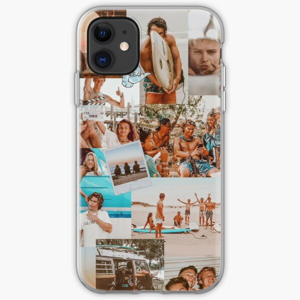 Best Summer Outer Banks  Aesthetic Collage iPhone Soft Case