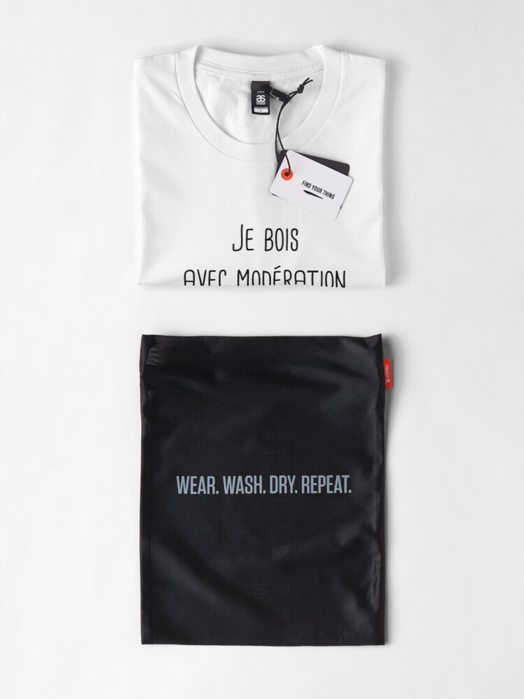 Alternate view of I drink in moderation with him man gift Premium T-Shirt