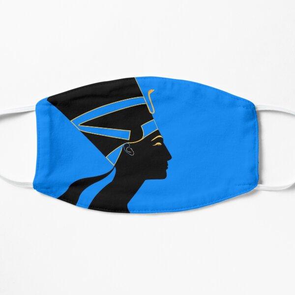 Gold & Black Nefertiti Flat Mask