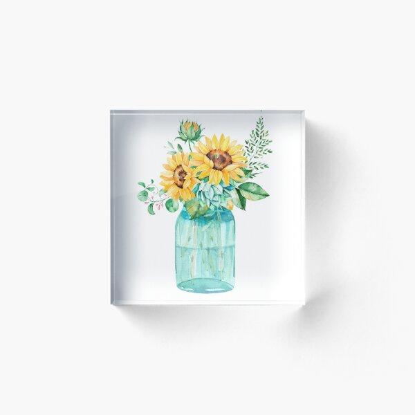 Einmachglas Acrylblock