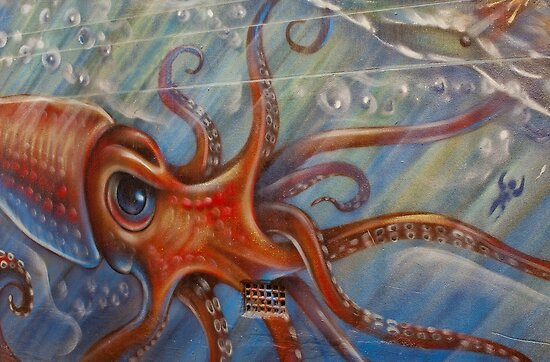 Big Squid by Gavin Kerslake