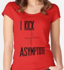 Kick Asymptote Women's Fitted Scoop T-Shirt