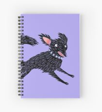 Running Dog Spiral Notebook