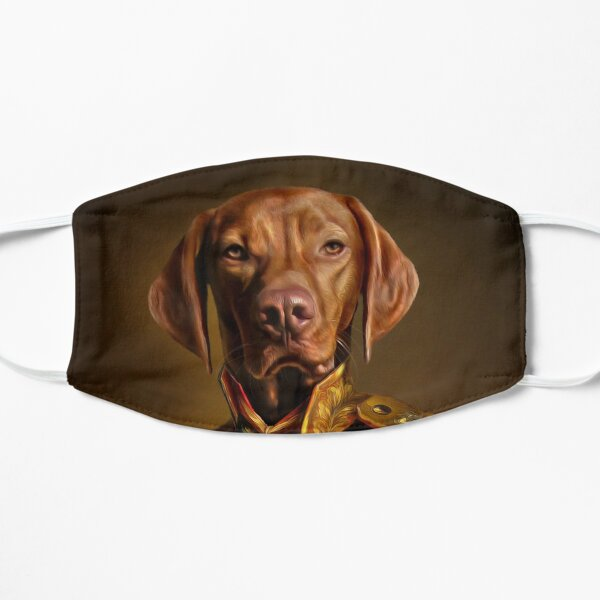 Bertie the Hungarian Vizsla - Dog Portrait Mask