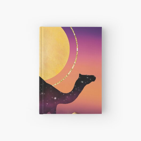 The Camel and the Joshua Tree Hardcover Journal