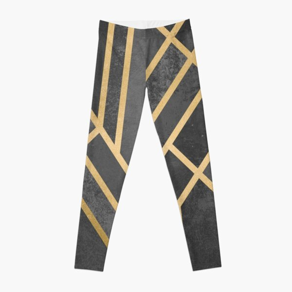 Art Deco Geometry 1 Leggings