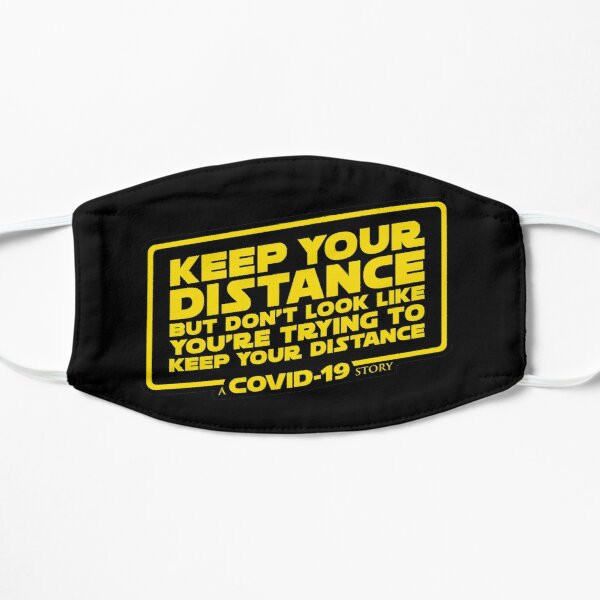 Keep Your Distance – A COVID-19 Story Mask