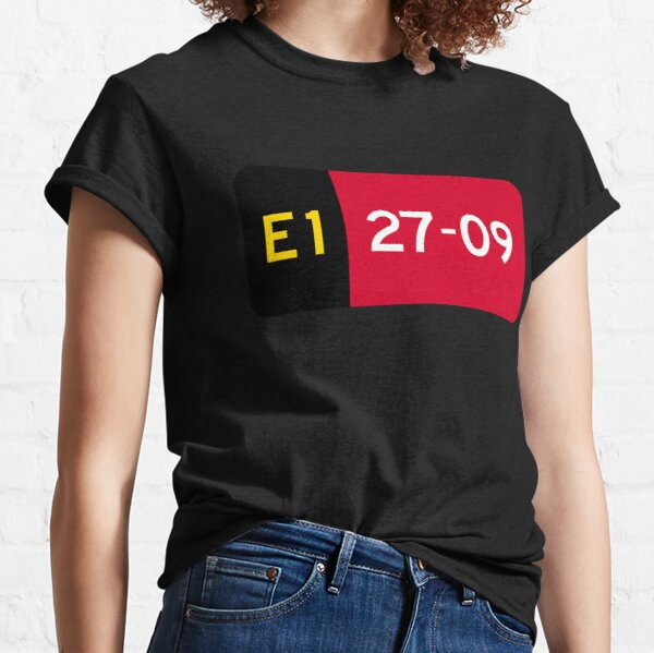 Holding Point Sign E1 27-09 Classic T-Shirt