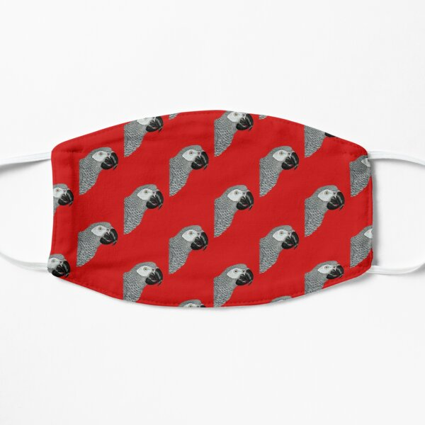 African Grey Parrot  Mask