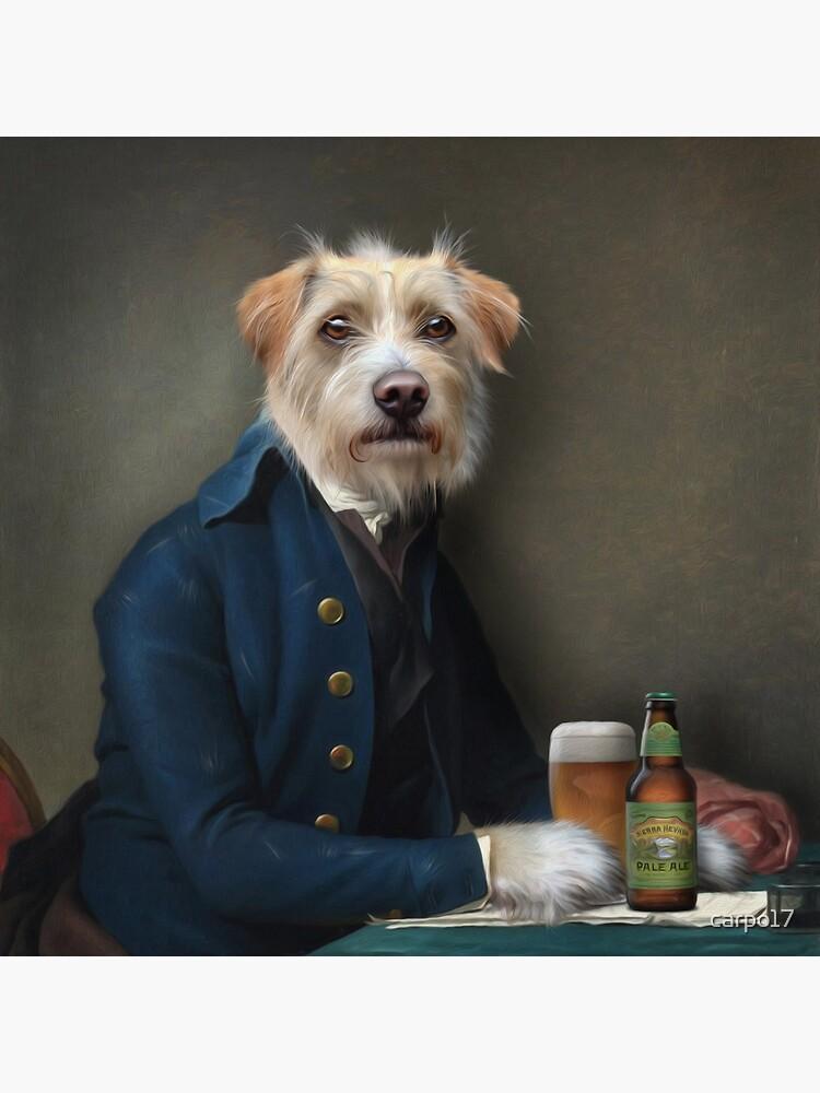 Dog Portrait - Vice President by carpo17