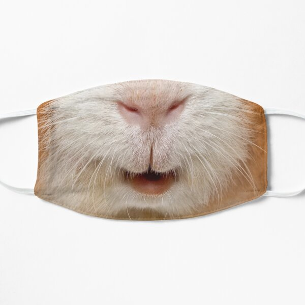 red guinea pig Mask