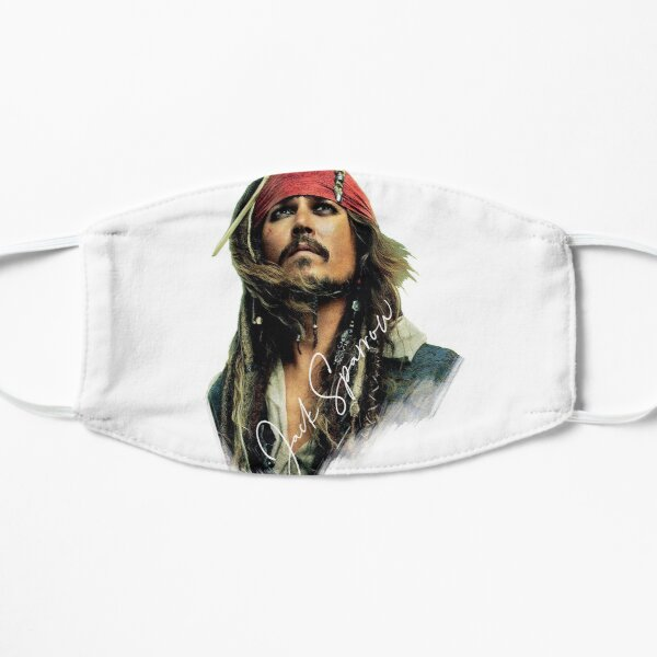 Awesome Merch of Jack Sparrow Mask