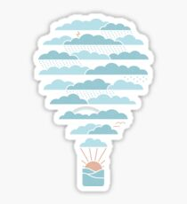 Weather Balloon Sticker