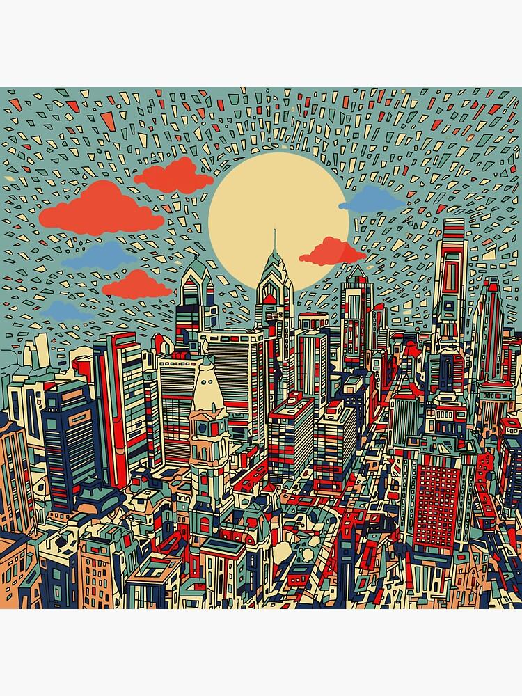 panorama de philadelphia 3 de BekimART