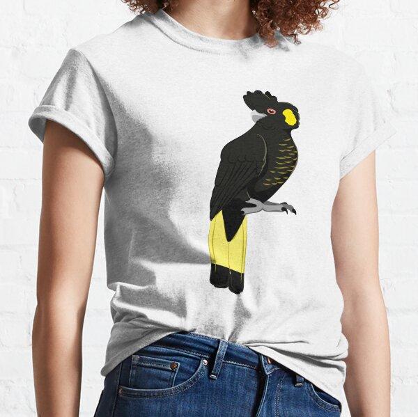 Yellow-tailed black-cockatoo Classic T-Shirt