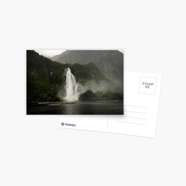 Lady Bowen Falls, Milford Sound Postcard