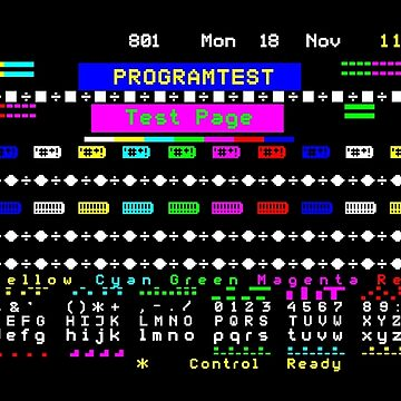 Teletext Test Page by ernstc