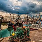Portavogie Fishing Boats 03 by peter donnan