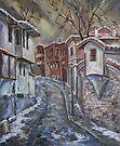 The Old Plovdiv - Winter Day by Stefano Popovski