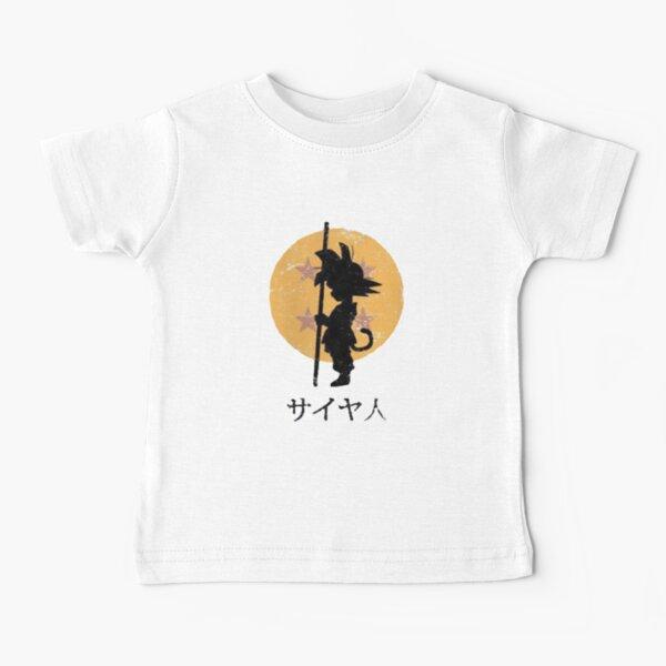 Dragon Ball Z San Goku Camiseta para bebés