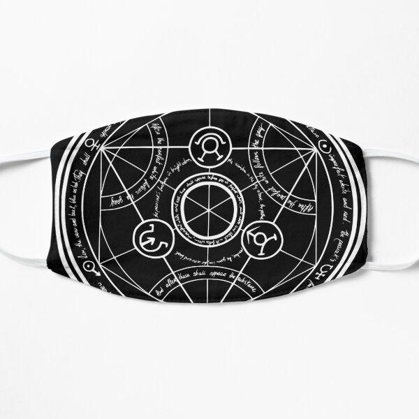 Clean Human Transmutation Circle Dark Mask