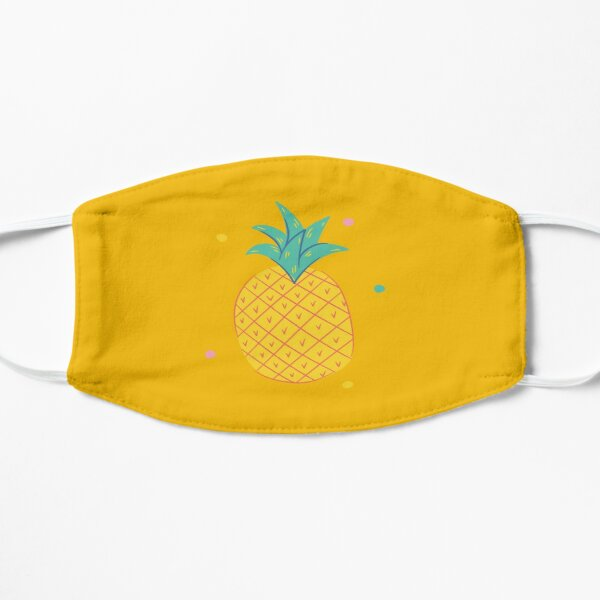 Pineapple t-shirt with a beautiful touch Mask