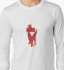 Anonymous 2012 silhouette 3 Long Sleeve T-Shirt