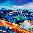 Purple Hills by Elise Palmigiani