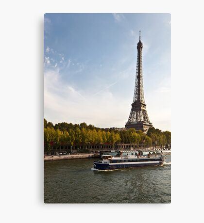 Trip in Paris Canvas Print