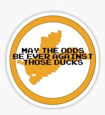 Hunger Games / Duck Hunt Sticker