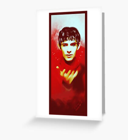 Merlin Greeting Card