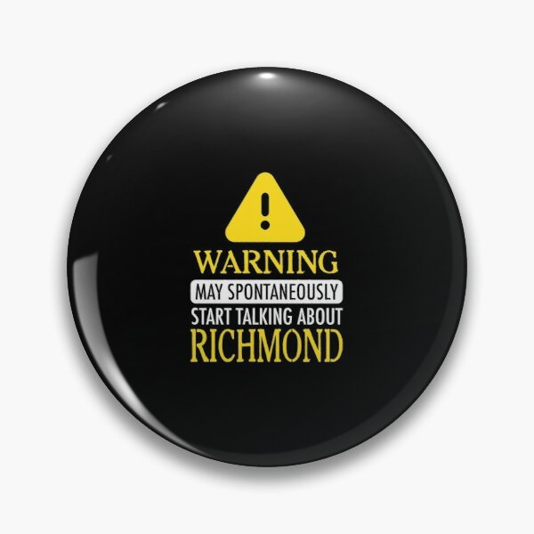 WARNING! : Richmond Pin
