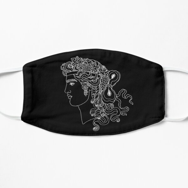 Dionysos, black & white Mask