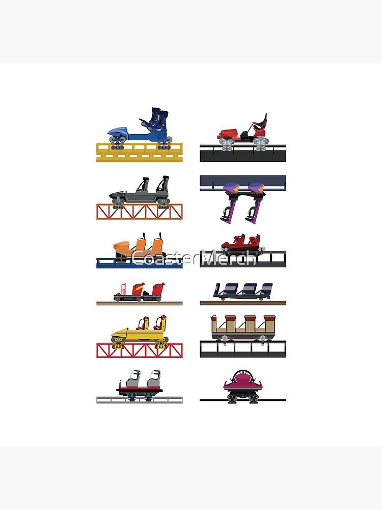 Hersheypark Coaster Cars Design by CoasterMerch