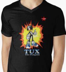 I.T HERO - TuxSonic Men's V-Neck T-Shirt