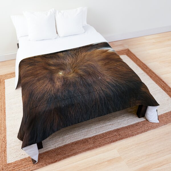 Cowprint art (photograph, smooth print) Comforter
