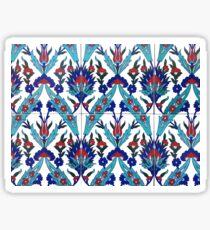 Turkish Iznik Floral Pattern Sticker