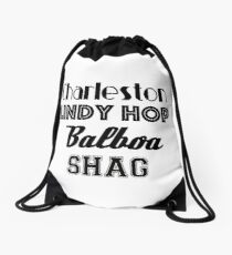 Swing Dances Drawstring Bag