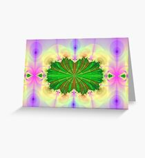 Fractal Cavity Greeting Card